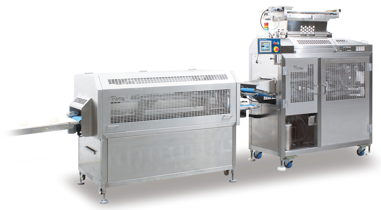 Equipment Rheon Is The Pioneer Manufacturer Of Food Prosessing Chiayo Snack Energy Ballcup Mix Vr250