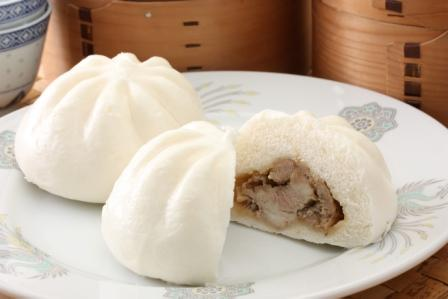 Chinese Meat Bun with Boiled Pork