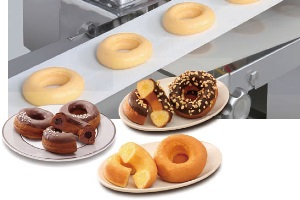 Filled Ring Donut Forming Device for KN550